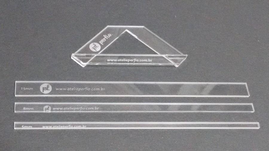 d1af0f292 Kit Gabaritos + Fio De Cabelo Para Encadernação - R  35