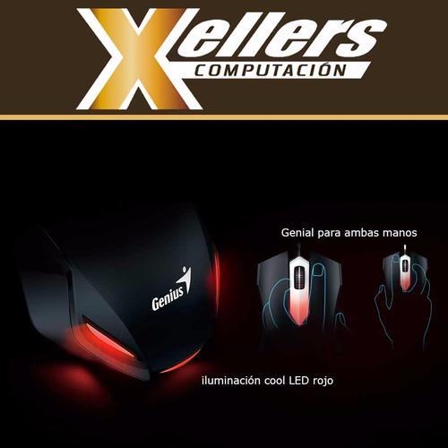 kit gamer de teclado, mouse y auriculares genius gx kmh 200