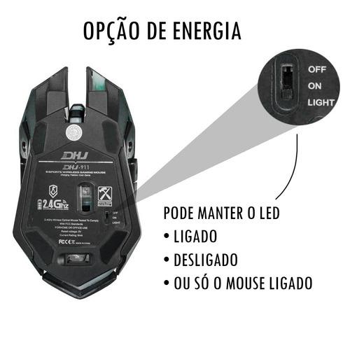 kit gamer headset 5.1 teclado led mouse 3200dpi luz led hz1
