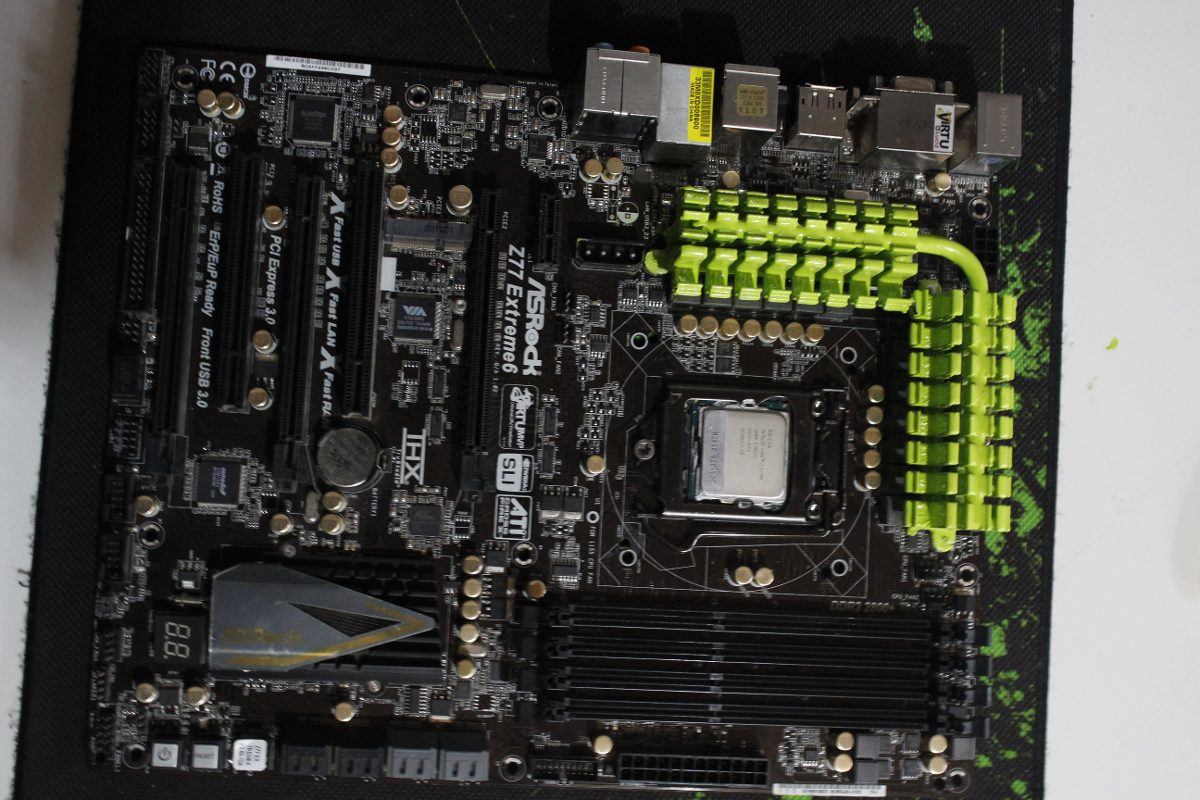 NEW DRIVERS: ASROCK Z77 EXTREME6 MOTHERBOARD