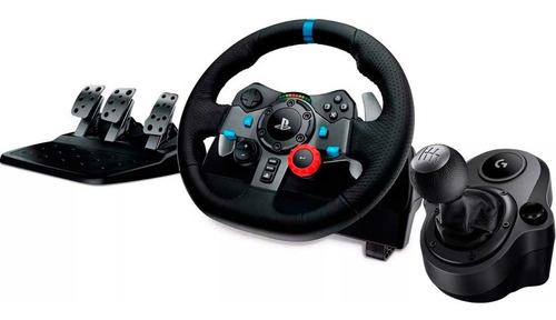 kit gamer logitech timon g29 + palanca shifter ps3 ps4 pc