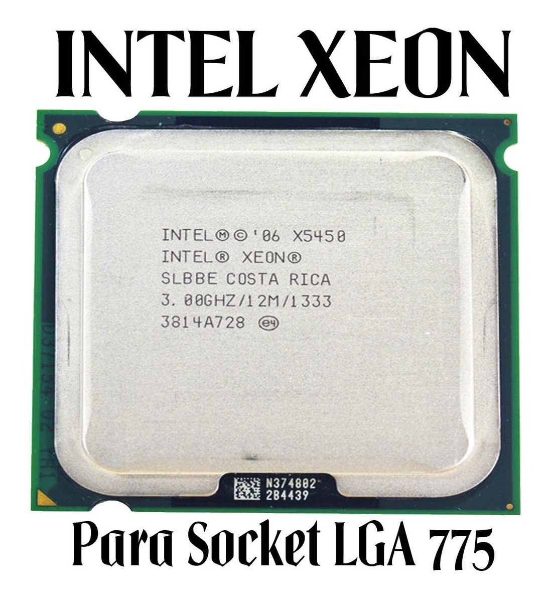 Kit Gamer Placa Mãe + Xeon 5450 + 8gb + Cooler ( Novo )