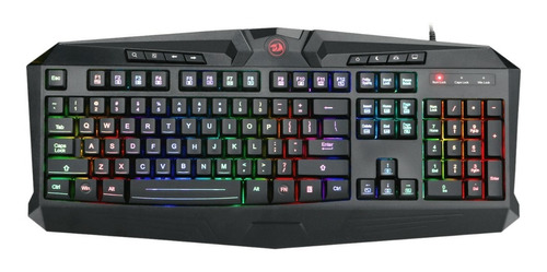 kit gamer redragon s101 teclado mouse audífono padmouse