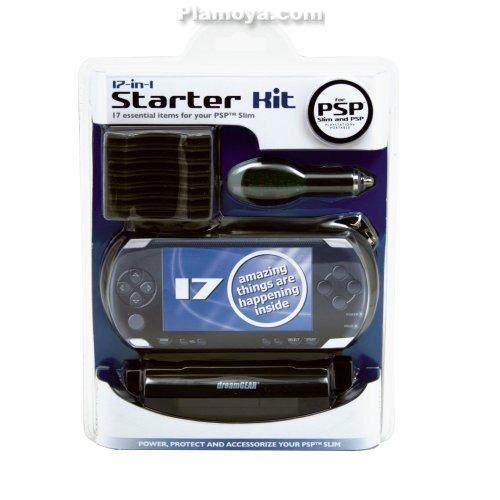 kit gamer starter 20 accesorios + para psp 3000, 2000 y 1000
