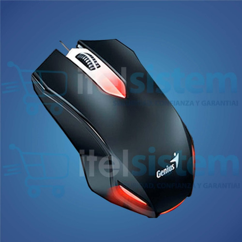 kit gamer teclado + mouse + audífono genius black itelsistem