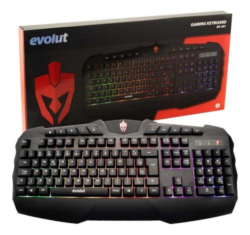 kit gamer teclado + mouse + fone de ouvido + mouse pad