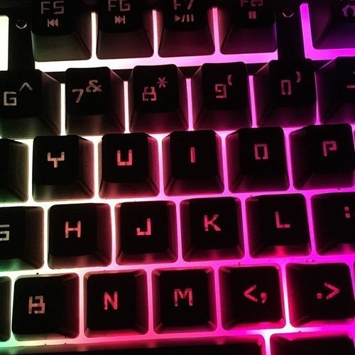 kit gamer teclado semi mecânico + mouse 3000dpi + mouse pad