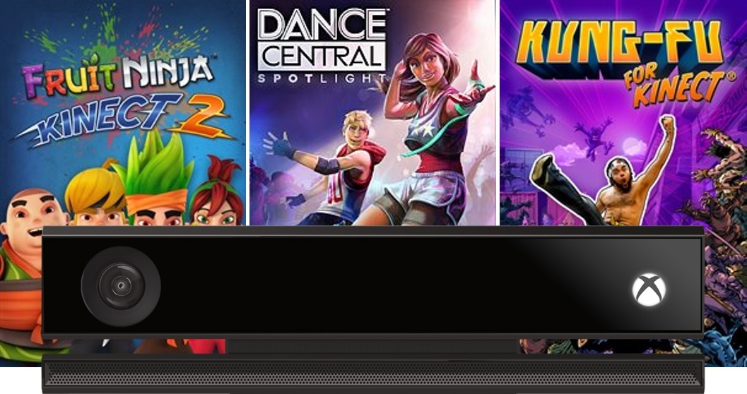 Kit Games Com Kinect Xbox One S, X - Nfe E Garantia De 1 Ano