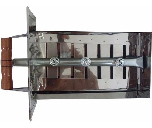 kit gás para churrasqueira bafo inox  p, m, g e gg