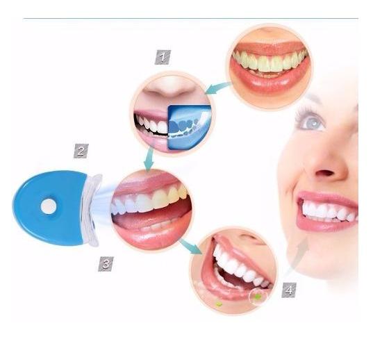 Kit Gel Luz Dentes Brancos Clareamento Dental Branqueamento R 39