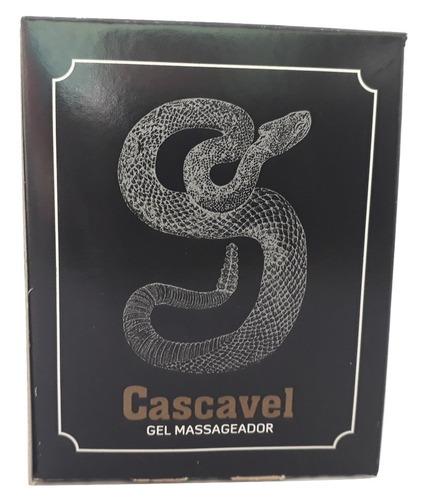 kit-gel massageador cascavel 250g-beleza brasil-3 unidades