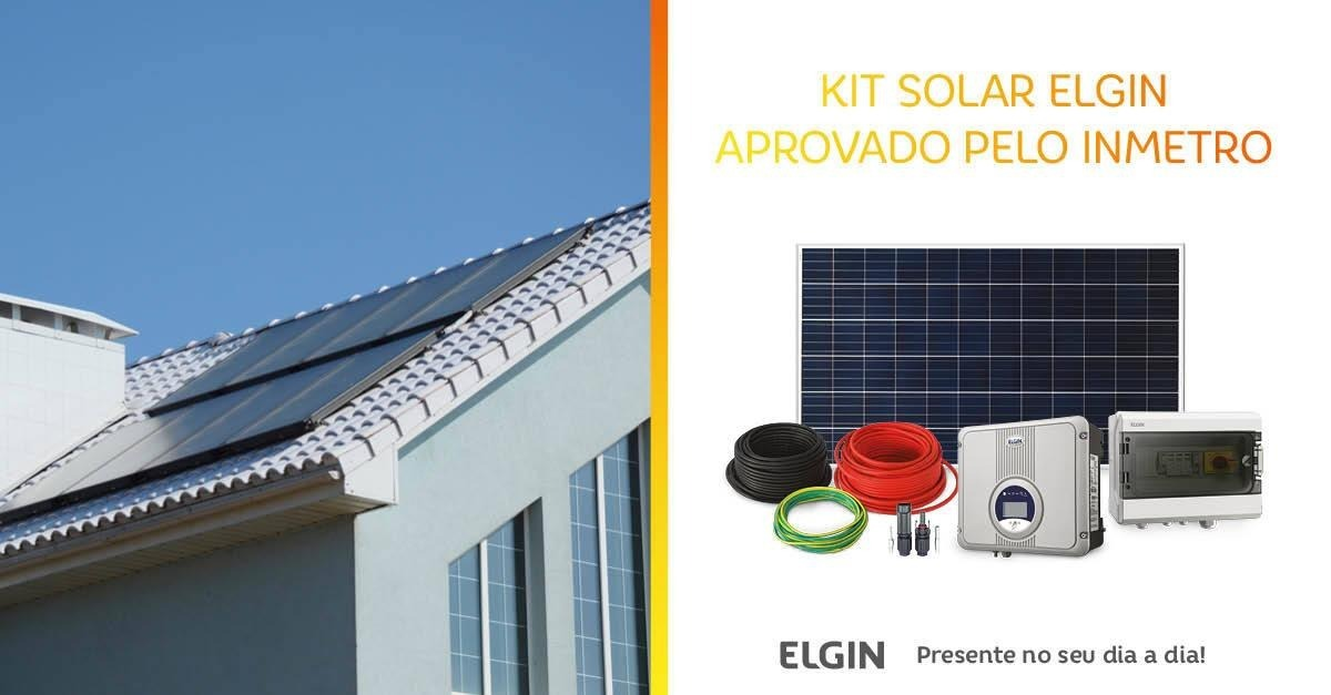fe1754f34e7 Kit Gerador Energia Solar Fotovoltaico 640w + Inversor ... - R ...