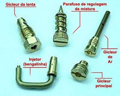 kit gicleu para carburador fusca 1300 1500  ( frete grátis )