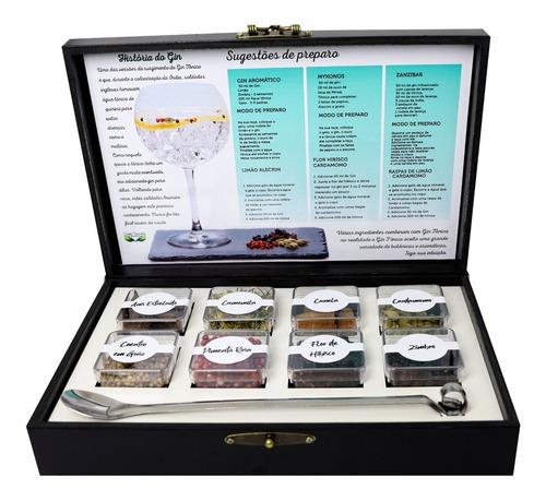 kit gin tônica 08 especiarias - melhor escolha