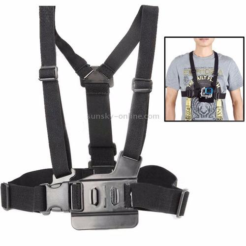 kit go pro bastão+flutuante+faixa cabeça+cinto peito