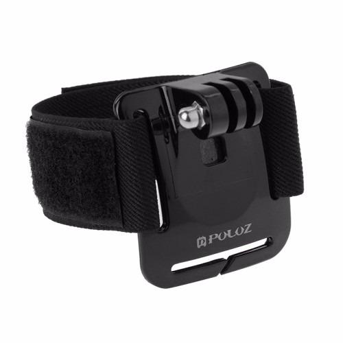 kit go pro bastão pau de selfie pulseira ajustável regulador
