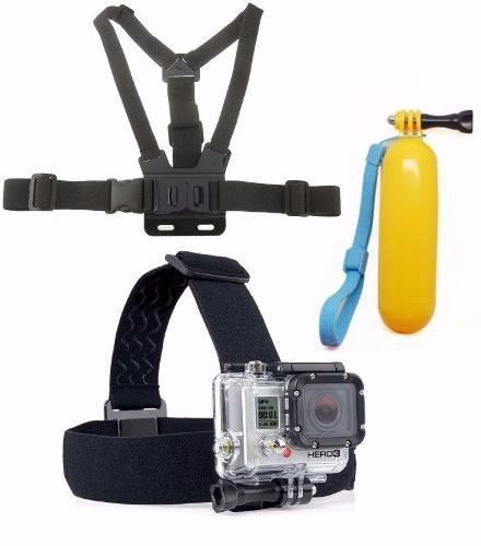 kit go pro hero acessórios suportes para go pro hero