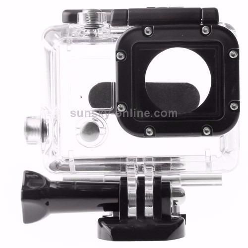 kit go pro suporte caixa estanque+flutuante+adesivo3m go pro