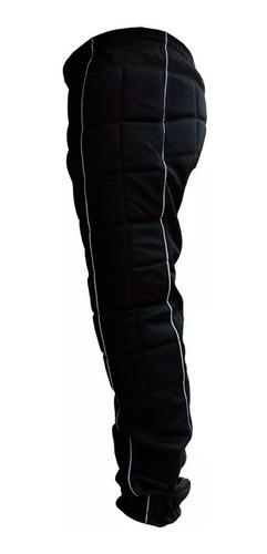 kit goleiro luva futsal calça joelheira e cotoveleira