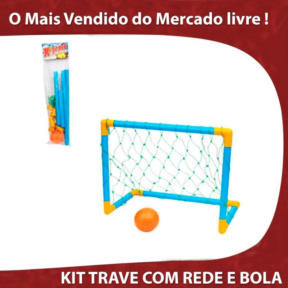 3f82b705ae0ee kit golzinho futebol trave rede bola promoção infantil. Carregando zoom.
