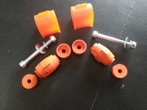 kit goma barra estabilizadora renault logan