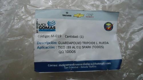 kit goma de tripoide lado rueda tico spark qq m-019 rd