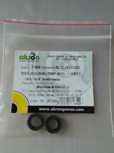 kit gomas reparación de croche toyota