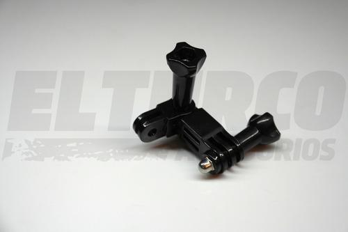 kit gopro 2 tornillos 2 brazo montaje soporte go pro -