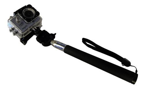 kit gopro 24 accesorios arnés bastón bici flotador valija!