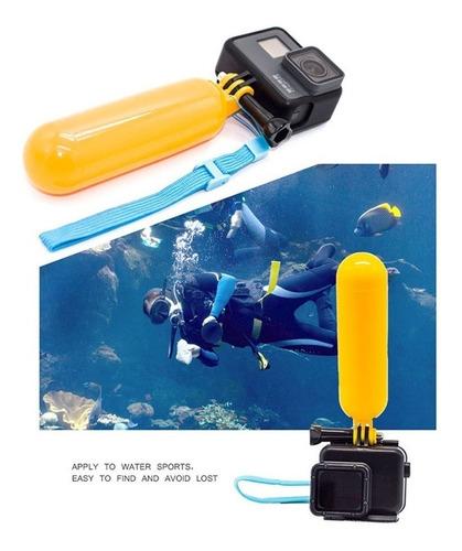 kit gopro 4 session bastão 3 way caixa estanque flutuante