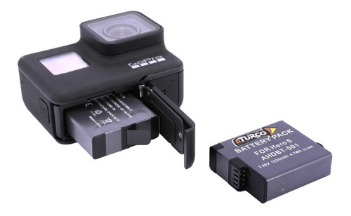kit gopro 7 black  2 baterias - unidad a $150000