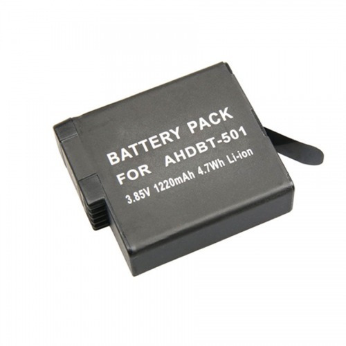 kit gopro hero 5 black carregador duplo+2 baterias hero 5 6