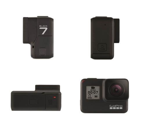 kit gopro hero 7 black + carregador duplo e bateria extra