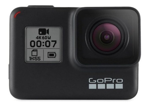 kit gopro hero 7 black + micro 32gb + bateria + selfie