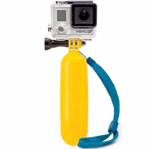 kit gopro hero bastão flutuante+case protetora prova d água