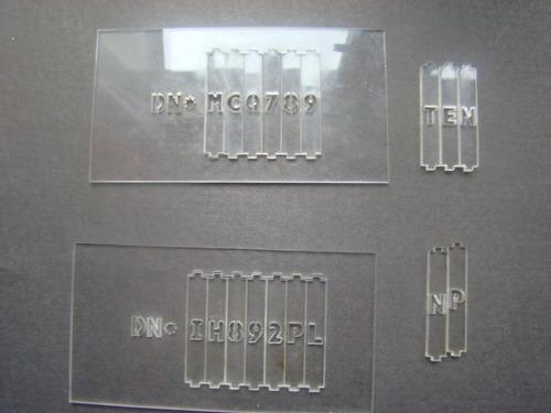 kit grabado de cristales s/arenado patente nueva y vieja