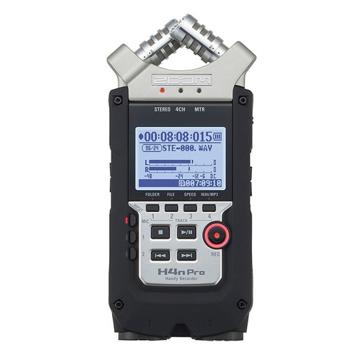 kit gravador zoom h4n pro + lapela e windscren + nota fiscal