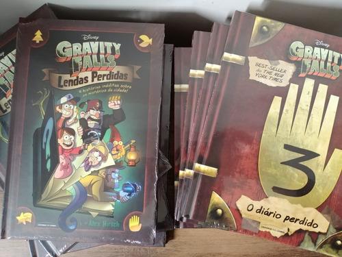kit gravity falls - diário 3 + gravity falls lendas perdidas
