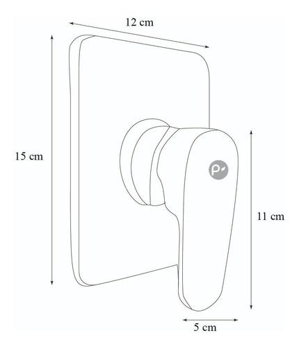 kit griferia ducha monocontrol lujo alta calidad cromo