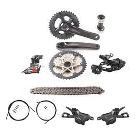 Kit Grupo Shimano Deore M6000 2x10 20v M6000 K7 11-42 2017
