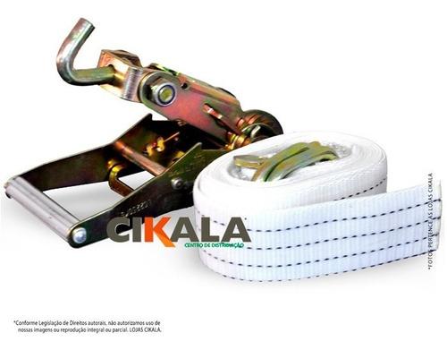 kit guincho 3 mts catraca + argolas gancho giratório 3 ton