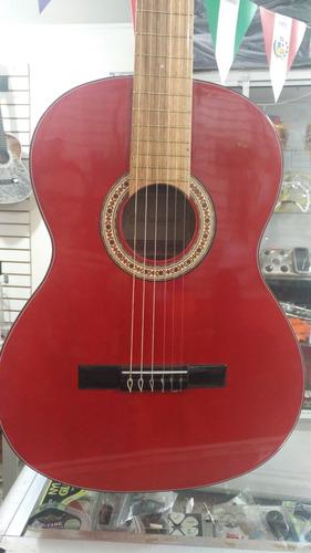 kit guitarra acustica con boquete+afinador+correa+forro y+++