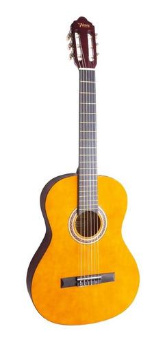 kit guitarra clasica 4/4 valencia natural vc104k