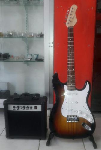 kit guitarra eléctrica c/amplificador/forro  nuevas/selladas