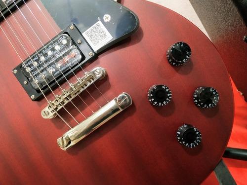 kit guitarra eléctrica epiphone les paul+ amplif fender 20w