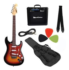 Kit Guitarra Mod Fender Memphis Mg32 Várias Cores Consulte