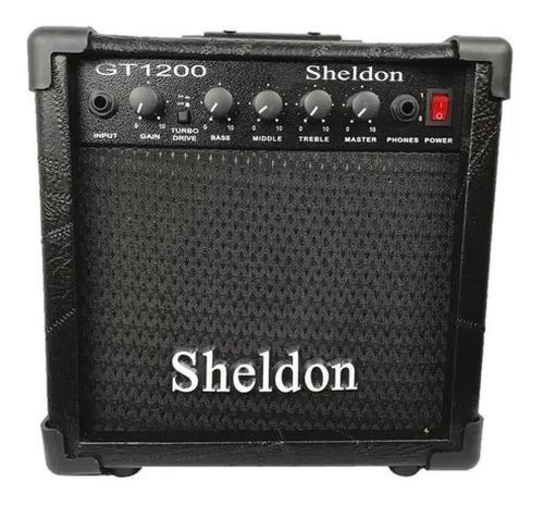 kit guitarra tagima tg510 branco cubo amplificador sheldon