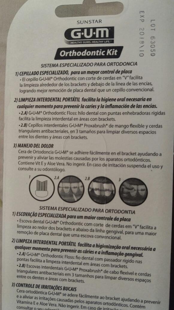 kit gum cepillo dental ortodoncia. Cargando zoom. b0075dc2df53