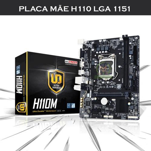 kit h110m + proc. intel pentium g4560 + mem 8gb ddr4 2400mhz