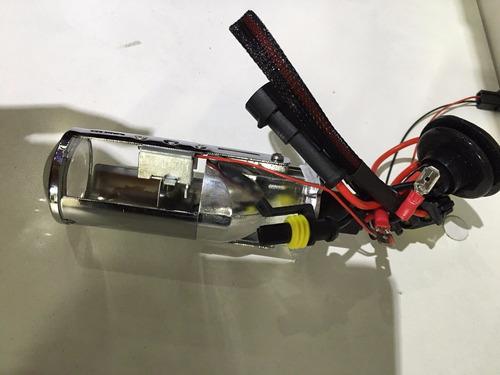 kit h4 bixenon proyector lupa envio gratis x moto caba